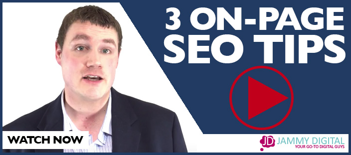 3 Top Tips For On-Page SEO