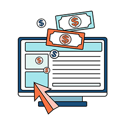 website making money
