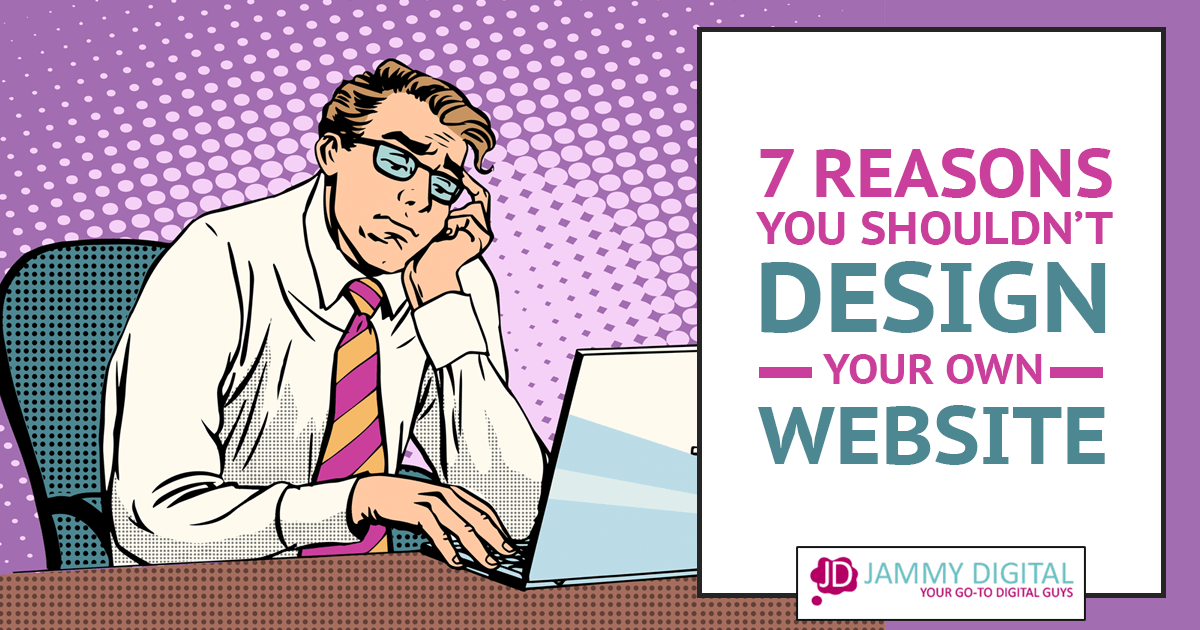 Should you design your own website?