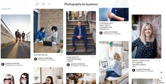 Pinterest for Business Photography