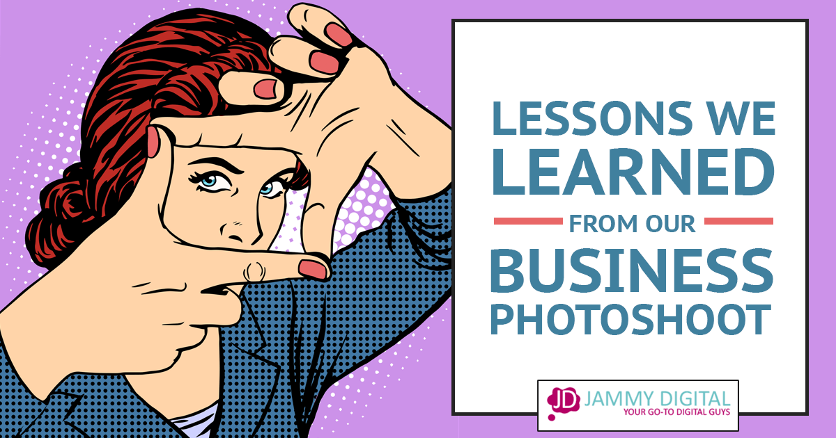 Lessons We Learned From Our Business Photoshoot