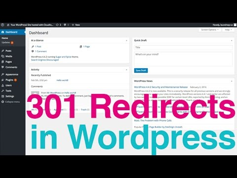 301 Redirects in Wordpress - Simple 301 Redirect Plugin