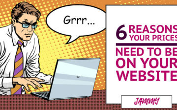 6 Reasons Your Prices Need to be on Your Website