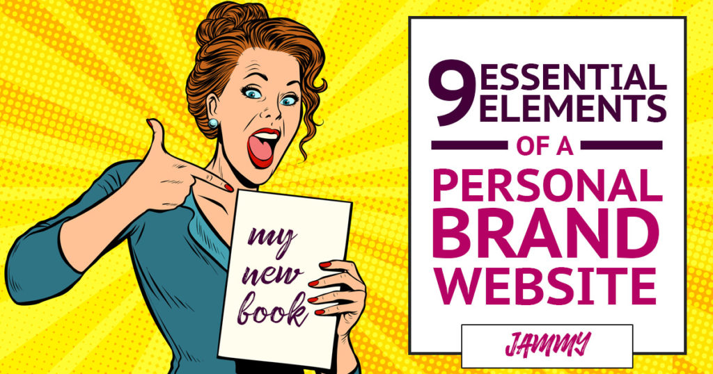 personal brand website tips