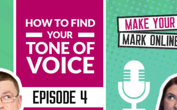 Ep 4 - How To Find Your Tone of Voice