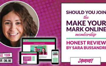 Should you join the Make Your Mark Online membership? Honest Review