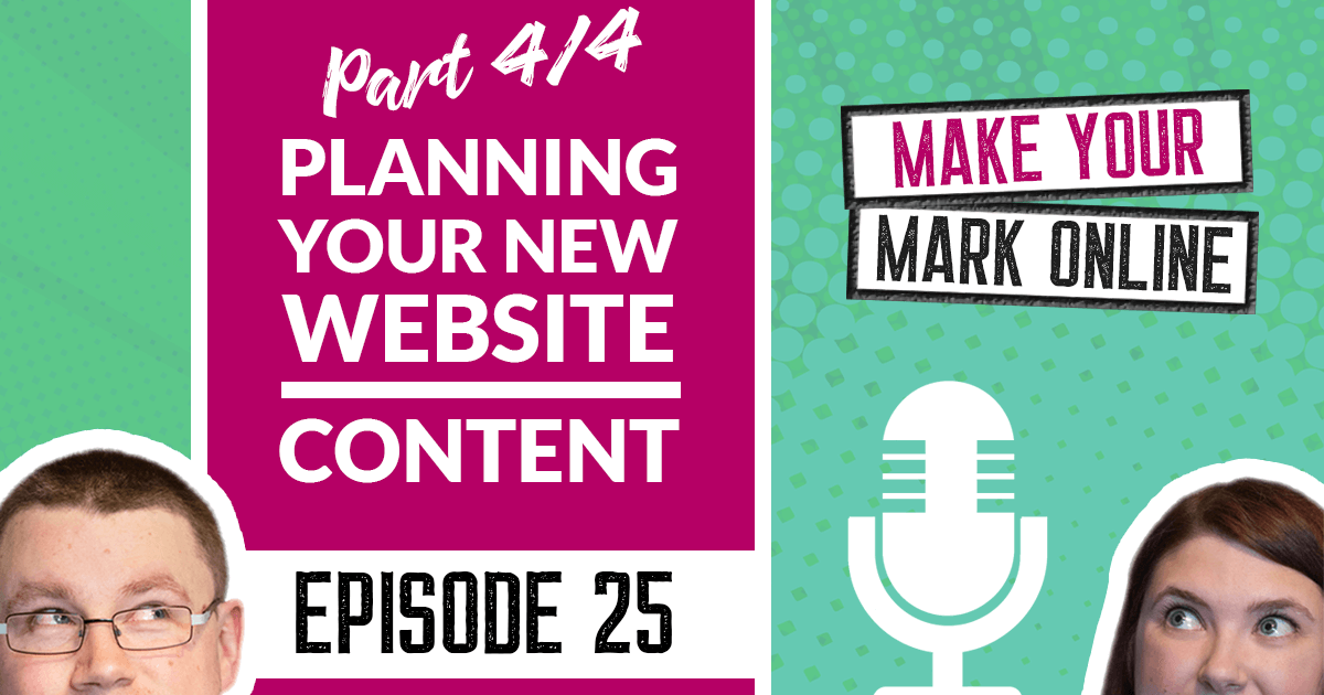 Ep 26 - New Year's Resolutions for Your Website