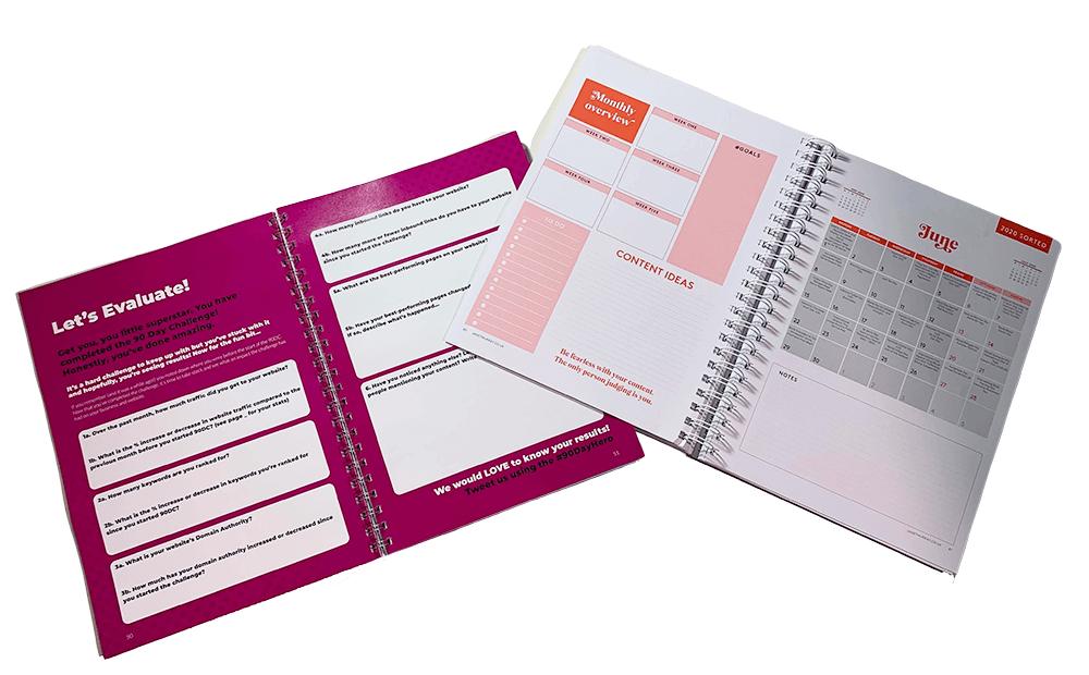Content Planner Workbook