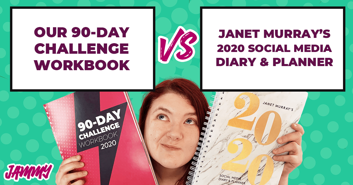 Content Planning Workbook Vs Janet Murray's Diary 2020
