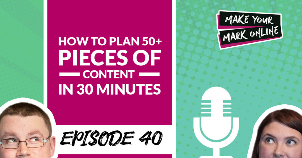 How to Plan Content Fast