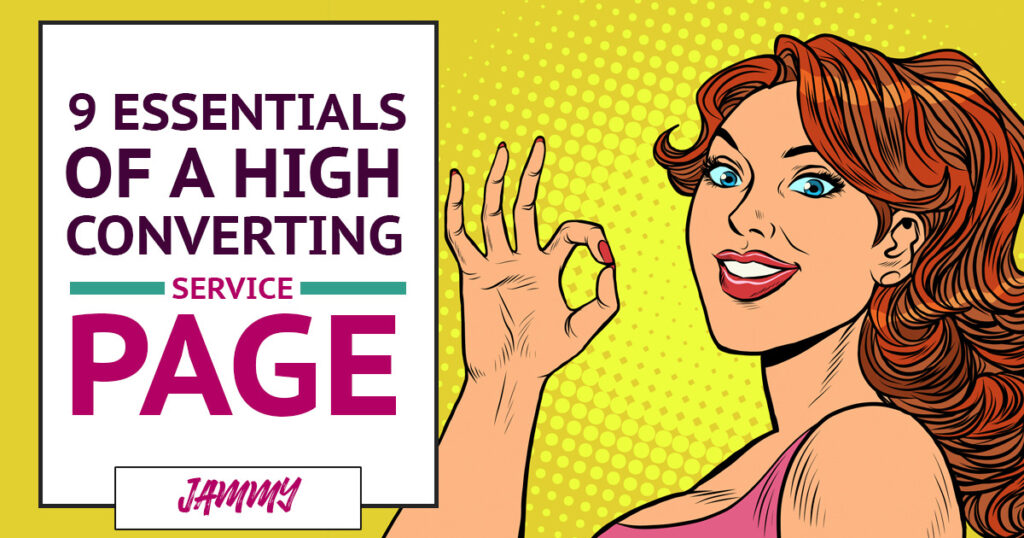 The 9 Essentials of a High-Converting Service Page