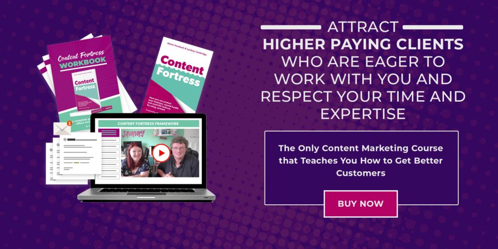 Everything You Need to Know About our Content Fortress Course