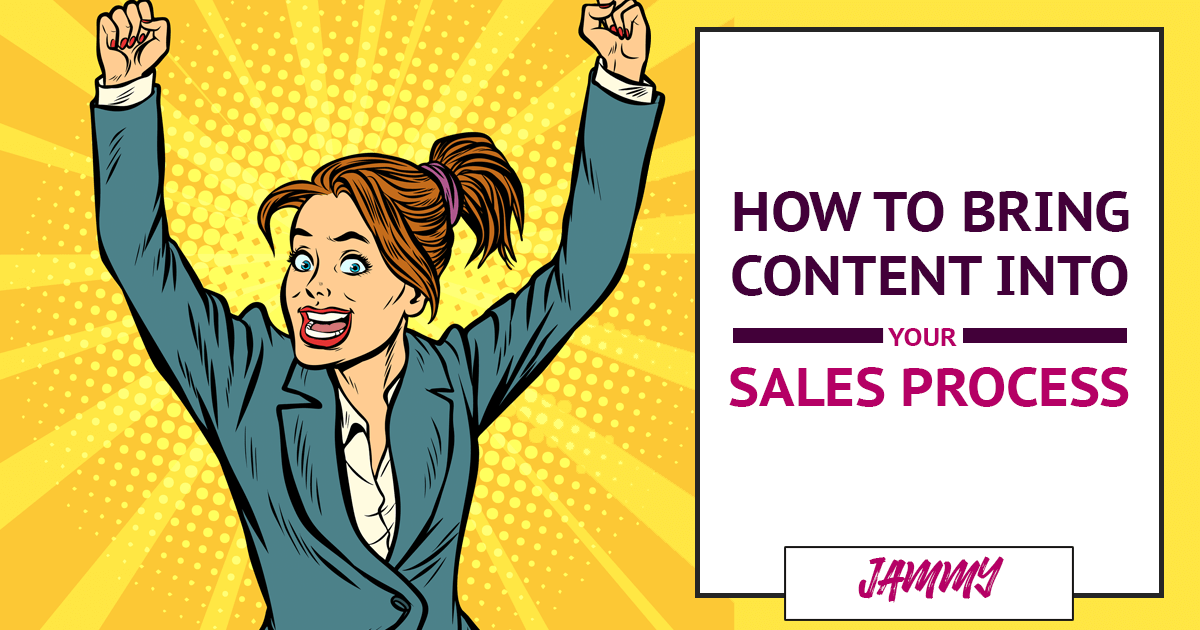 How to Make Content Part of Your Sales Process (so you get more sales, faster!)